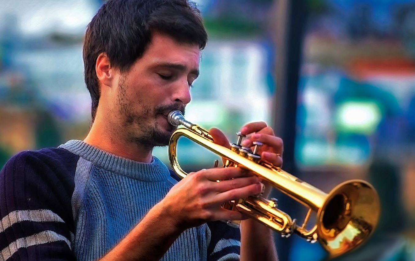 Tom s trumpetou
